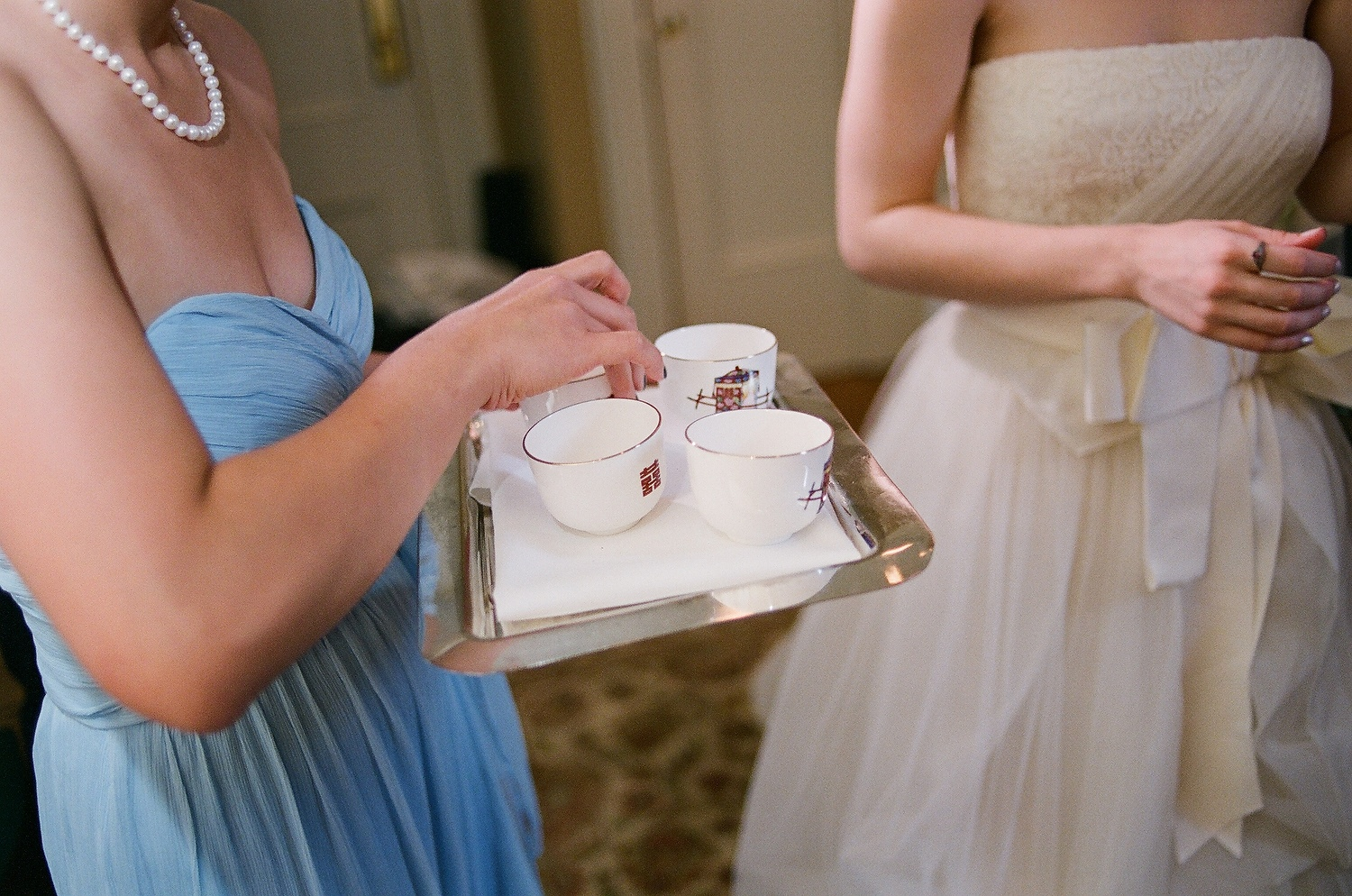 yale wedding tea ceremony