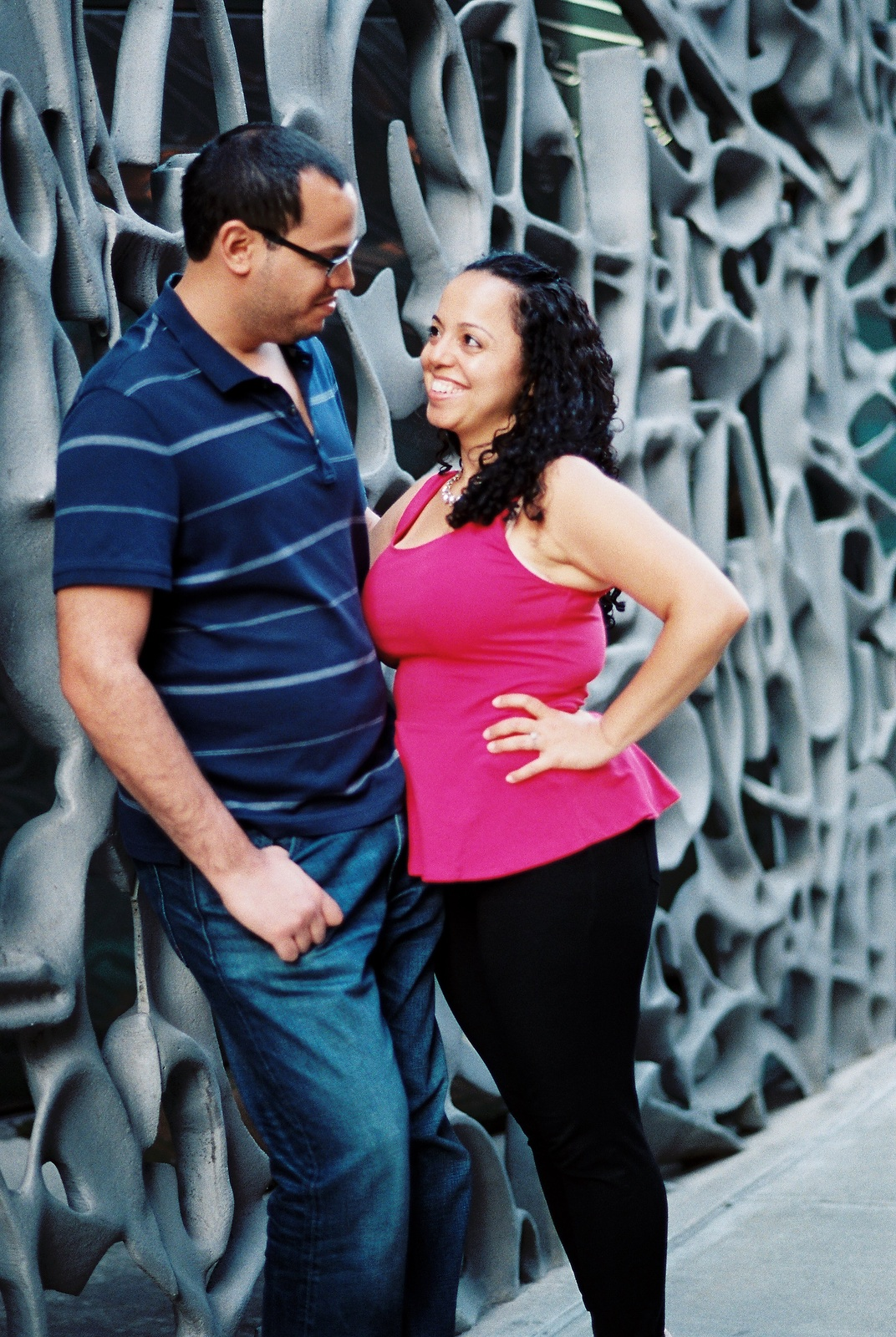 nyc noho engagement couple by wendy g photography