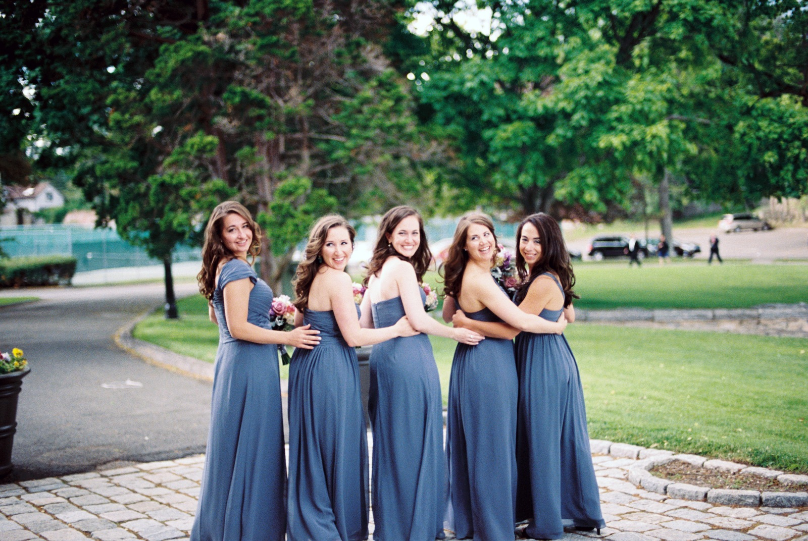 mamaroneck beach yacht club bridesmaids by wendy g photography