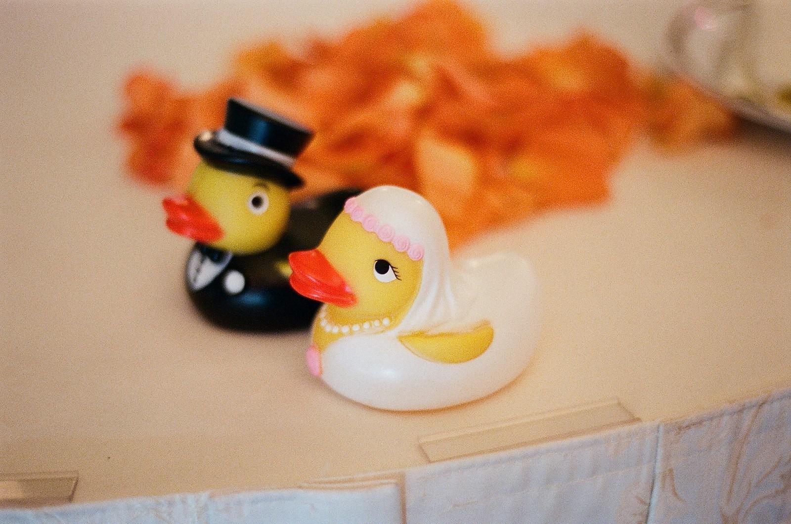 rubber duckys wedding decoration