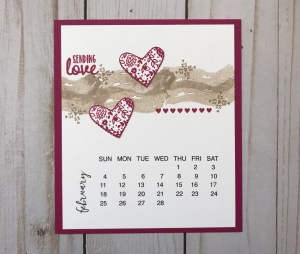 wendymakes, February 2018, Stampin' Up!