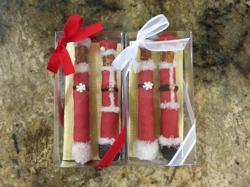 Santas Pretzel Sticks