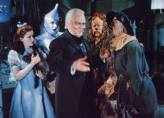 Picture of Wizard of OZ characters