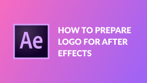 How to prepare logo format for After Effects