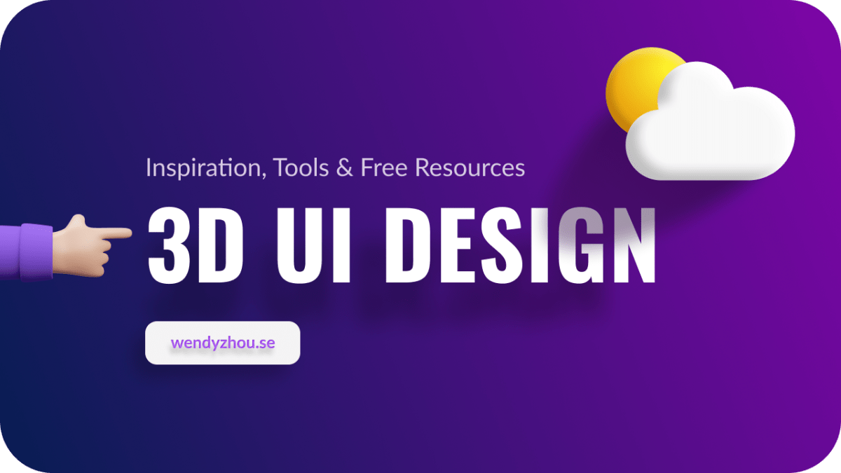 3D UI Design - Inspiration and tools