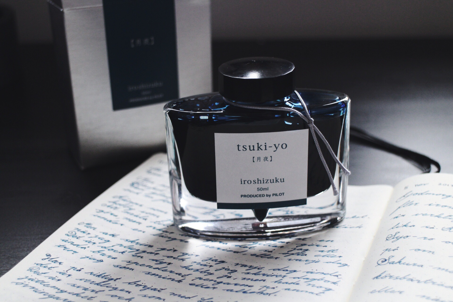 My favorite Ink! Iroshizuku, Tsuki-yo