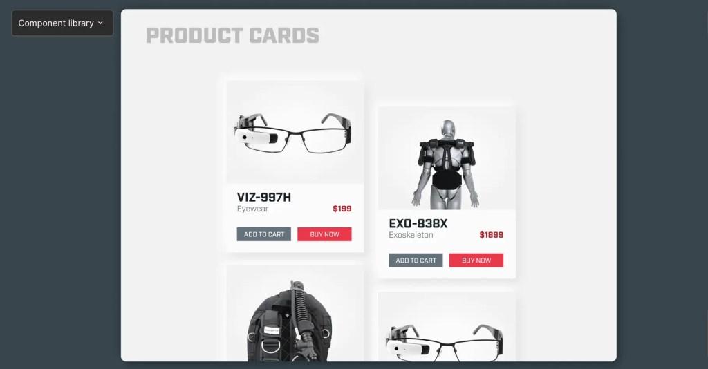 Figma Cyberpunk UI Neumorphic Kit