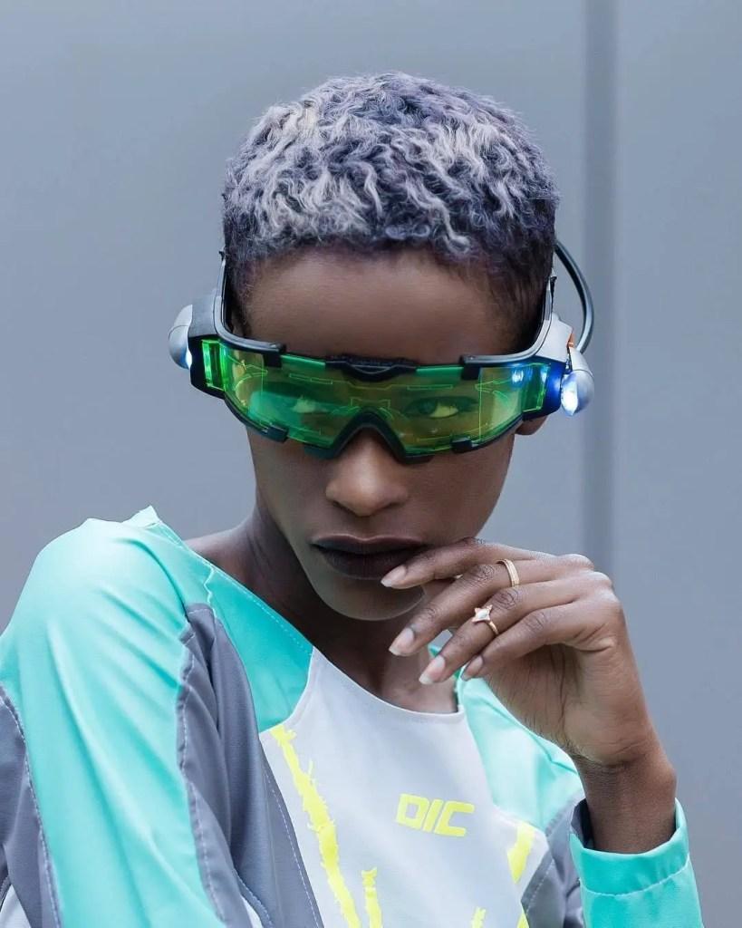 Cyberpunk Futuristic Glasses