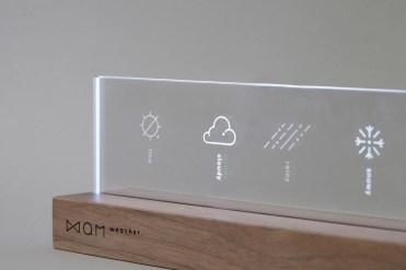 Futuristic Weather Forecast Product Design - QM Weather