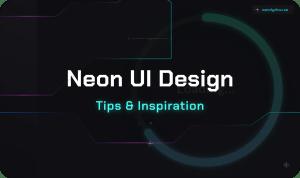 Neon UI Design – Inspiration