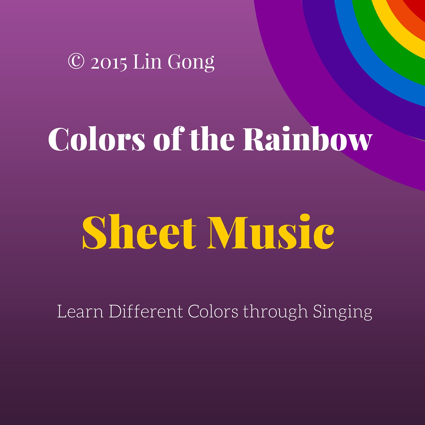Colors of the Rainbow sheet music