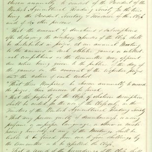 Book number 01 Page 003 Wenlock Agricultural Reading Society - Minutes Feb 25th 1850 continued