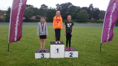 Individual Year 6 Girls Gold: Amy Harland Silver: Megan Smith Bronze: Grace Vale