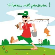 Tekst kaartje pensioen