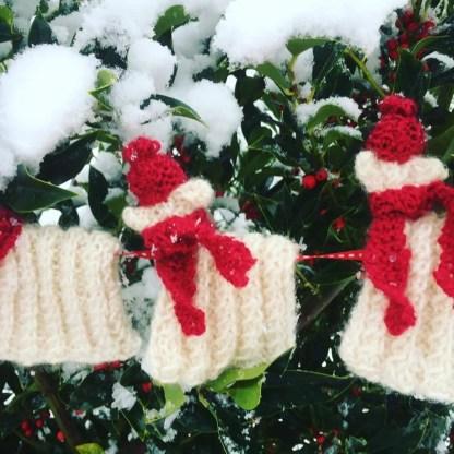 Christmas Sheep Bunting Kit