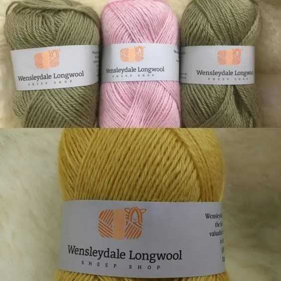 New Yarn and Labels
