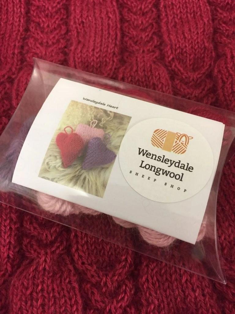 Wensleydale Heart Knitting Kit