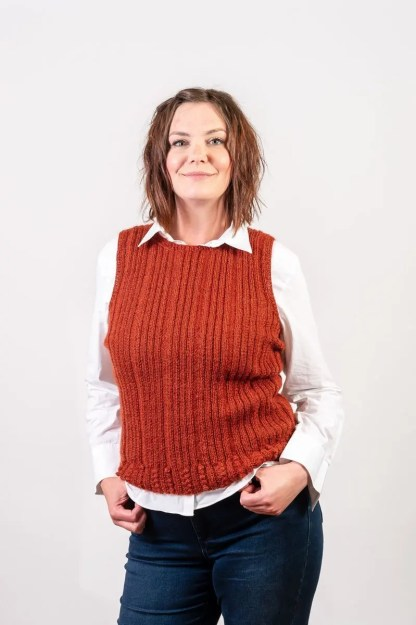Wensleydale Longwool Judy Vest