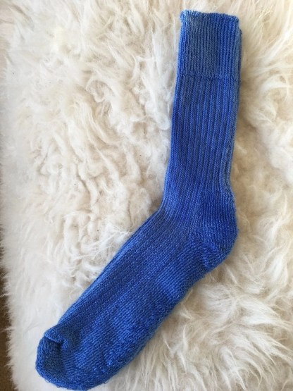 Sheep Shop mohair socks denim