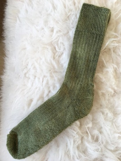 Sheep Shop mohair socks larch