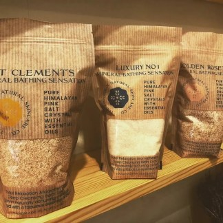 Edinburgh Natural Skincare Bath Salts