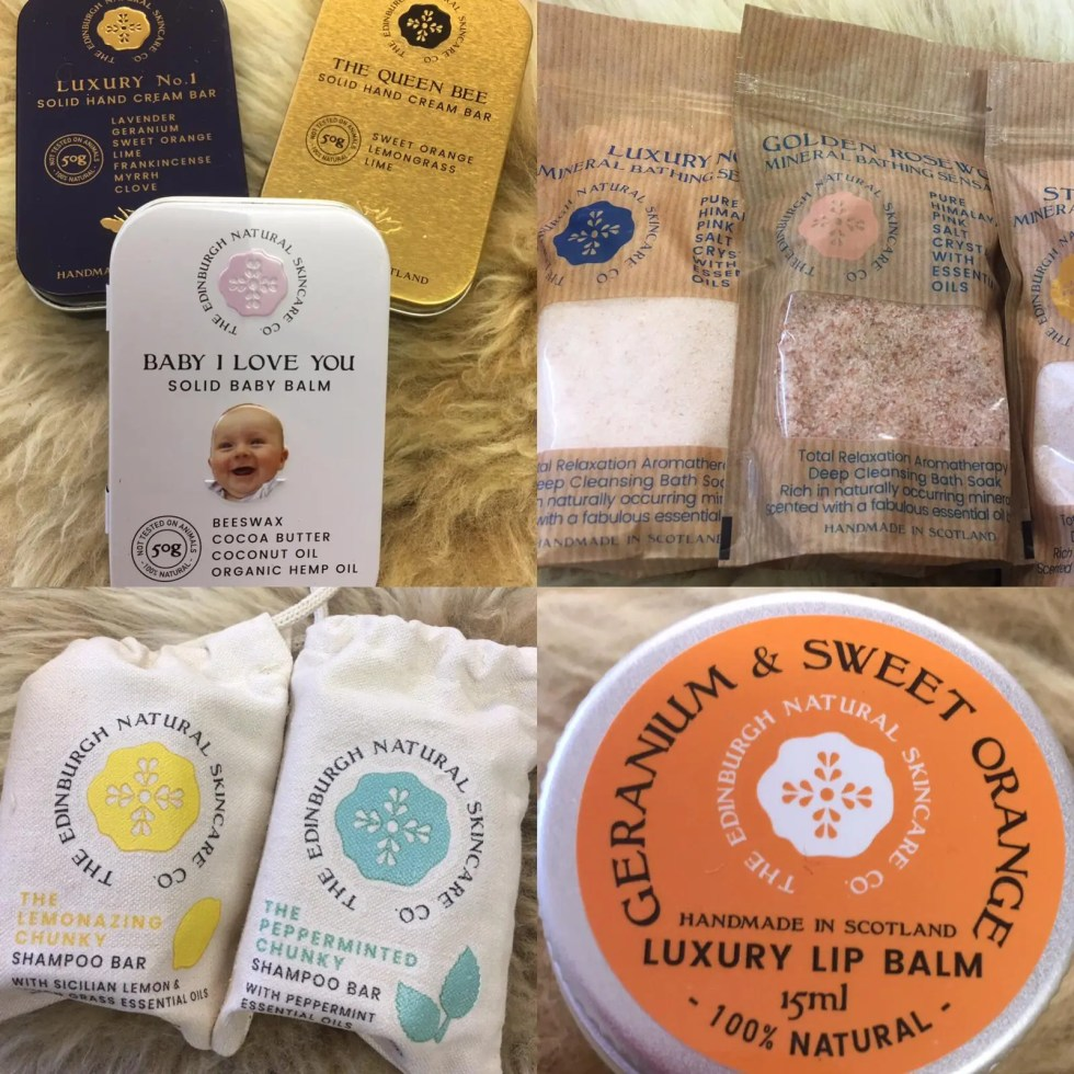 Edinburgh Natural Skincare Co. products
