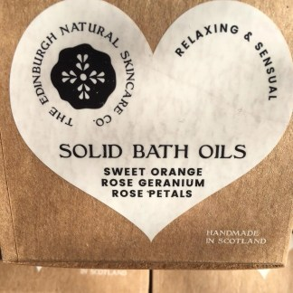 Edinburgh Natural Skincare Solid Bath Oils 1