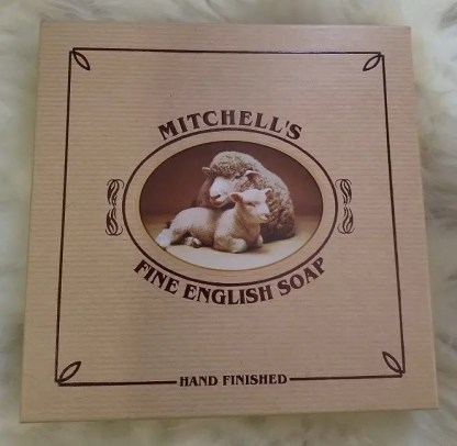 Mitchells Kraft Presentation Box containing fine English soap