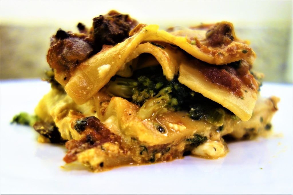 Vegetable Lasagna: Comfort Food