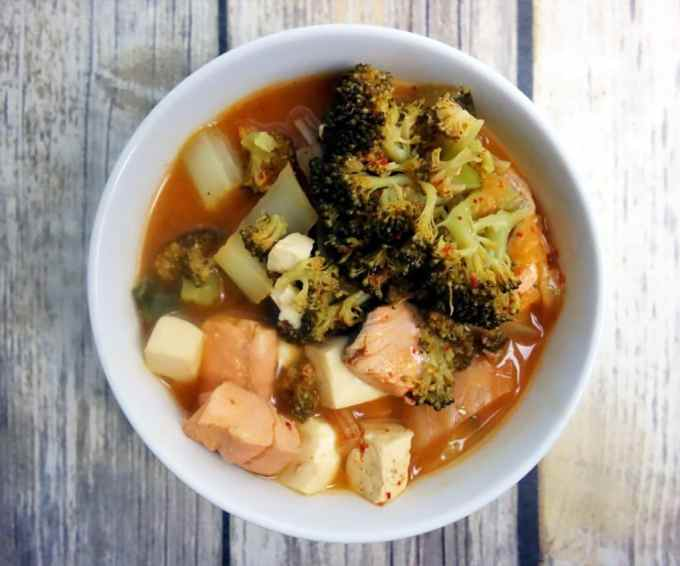 Healthy and Delicious Kimchi Tofu Stew
