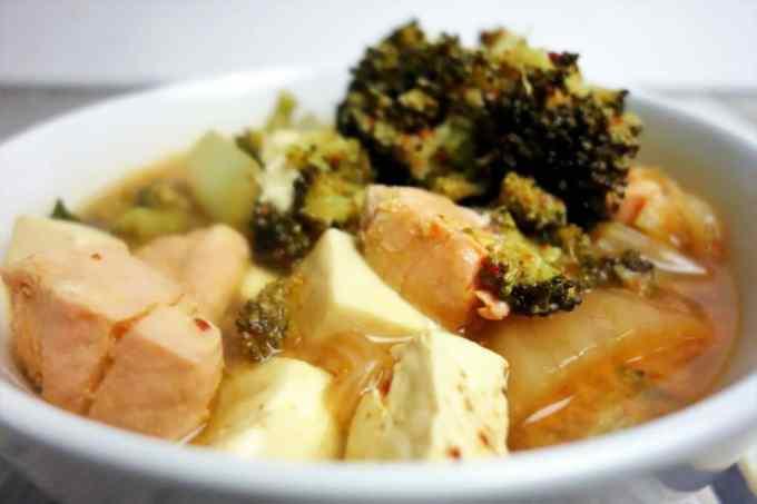 Healthy and Delicious Kimchi Tofu Stew
