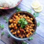 CHANA MASALA - Nothern India Style