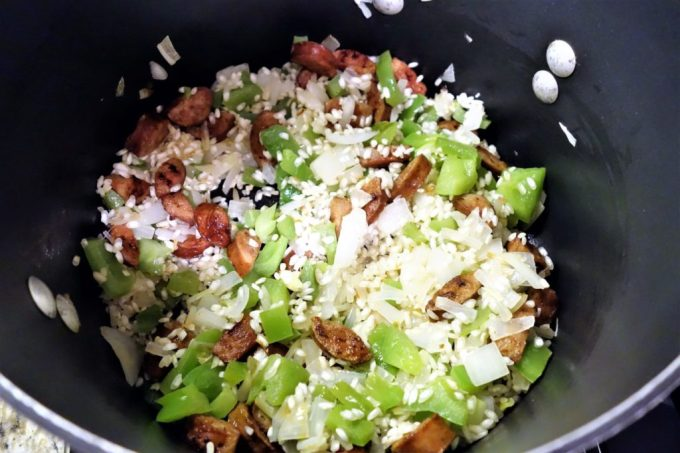 JAMBALAYA RISOTTO - Hearty and flavorful Italian/Cajun Fusion