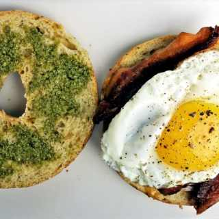 The Best Bagel Breakfast Sandwich
