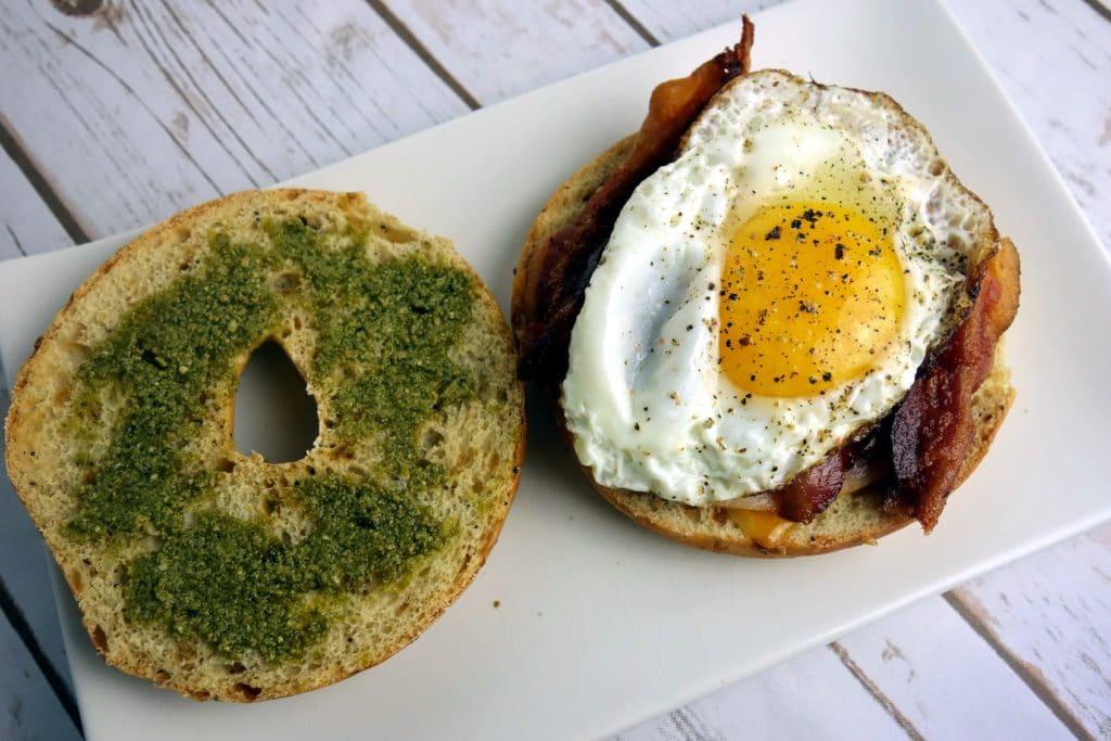 Bagel Breakfast Sandwiches