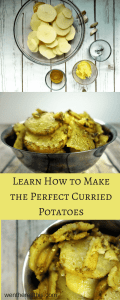 Learn how to make the perfect buttery Curried Potatoes