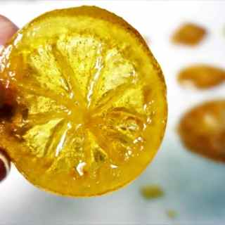 Candied Lemon Slices - the perfect garnish!