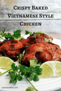 Vietnamese Style Baked Chicken with Crispy Skin