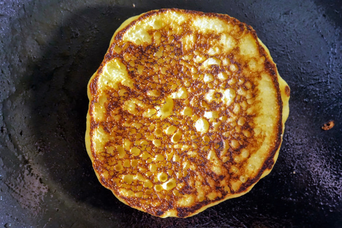 Deliciously Sweet and Savory Cornmeal Pancakes