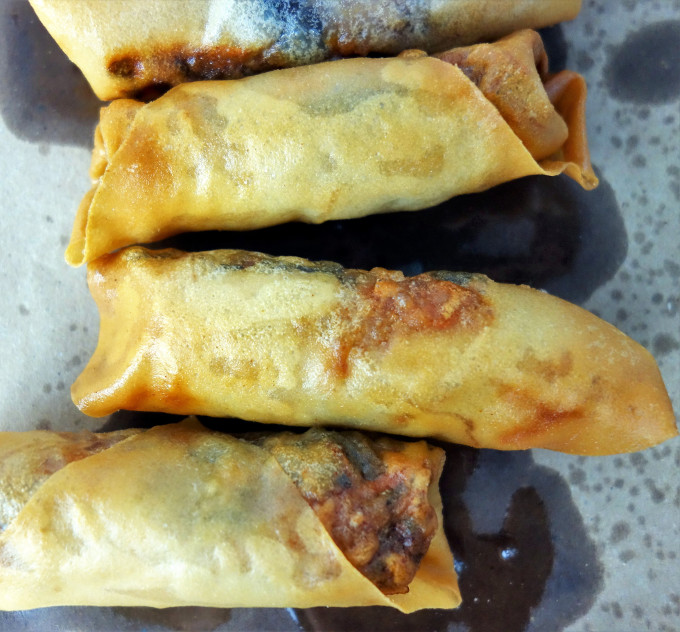 Learn how to make Vietnamese egg rolls with nuoc cham dipping sauce