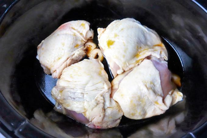 Easy Slow Cooker Teriyaki Chicken Thighs