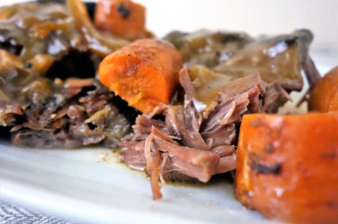 The Best Slow Cooker Beef Pot Roast - The easiest pot roast you'll ever make!