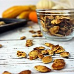 Crispy Garlic Toasted Pumpkin Seeds