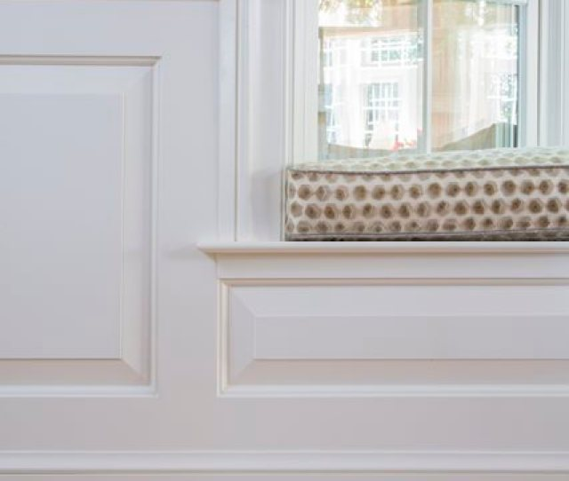 White Wainscoting