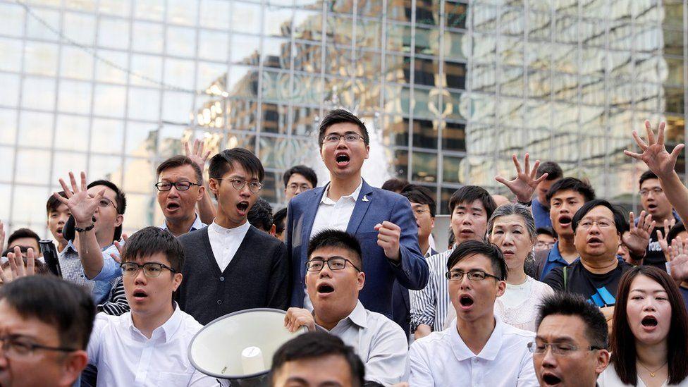 香港区议会选举民主派新当选议员