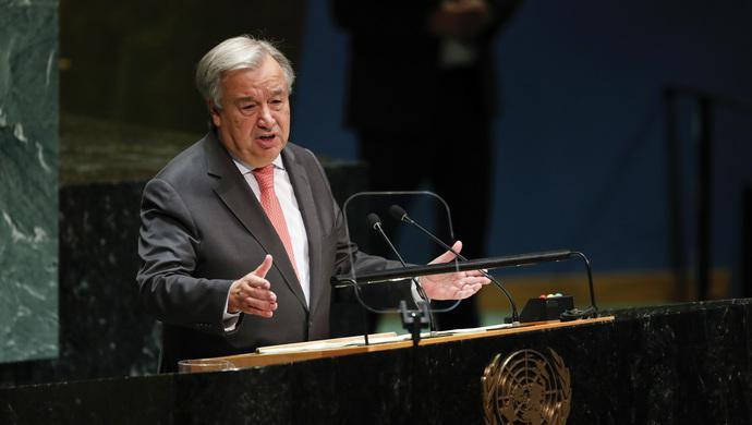 聯合國秘書長:世界無法承受第二次海灣戰爭(圖)