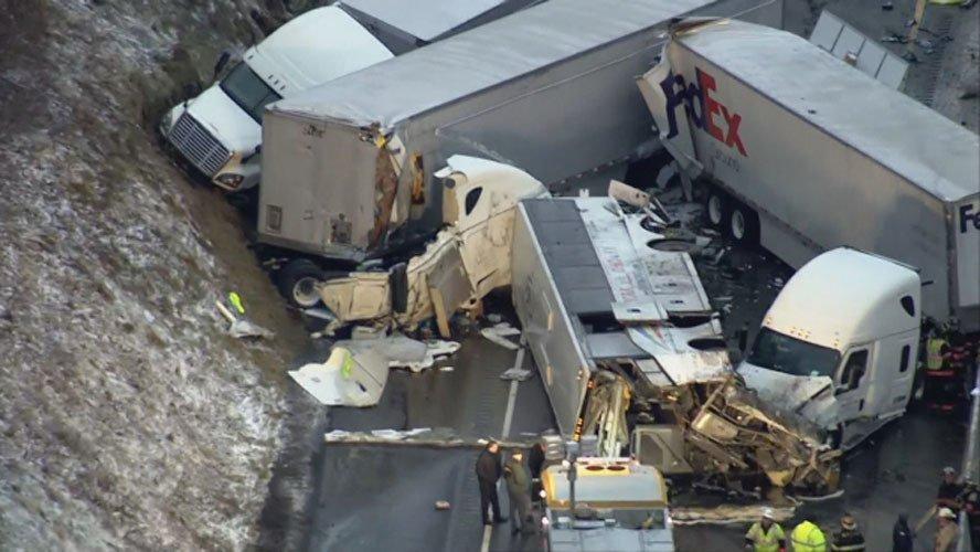 宾州车祸惨案:5死者及时间线确认 5华侨留学生受伤(图)