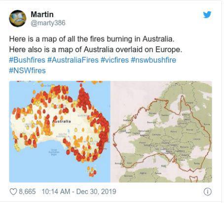 澳大利亚林火的谣言,是时候戳穿了(图)