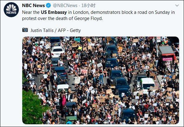 抗议蔓延全球,美国驻多国使领馆遭围