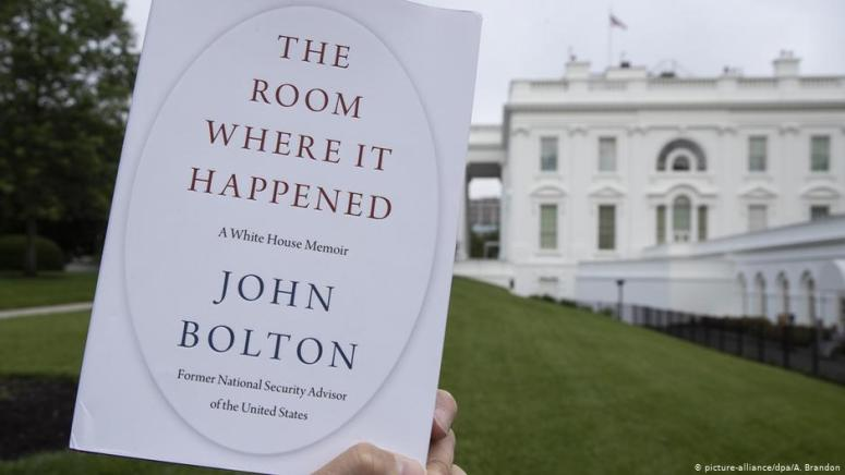 USA John Bolton Buch The Room Where It Happened